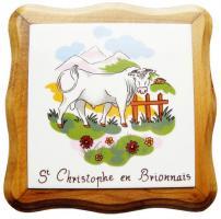 """Décor """"Ville de Saint Christophe en Brionnais 71"""""""
